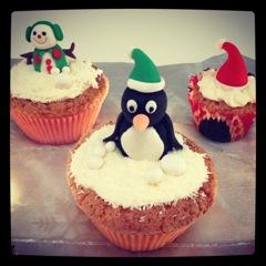 cupcake pinguin