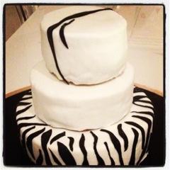 cake zèbre
