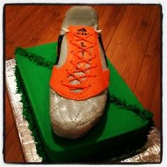 cake chaussure de foot
