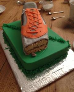 cake chaussure