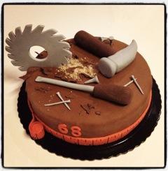 gâteau ébéniste