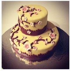 cake cerisier