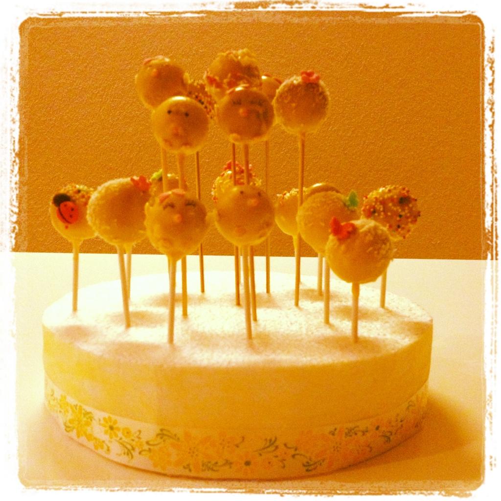 cakepops jaune