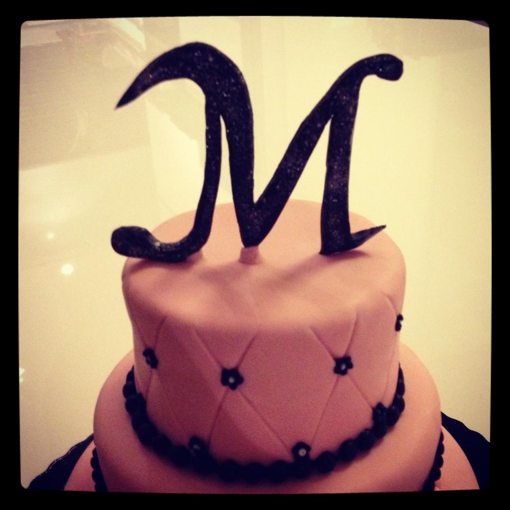 M du gâteau
