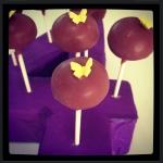 Cake Pops violet