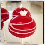 Cake Pops rouge