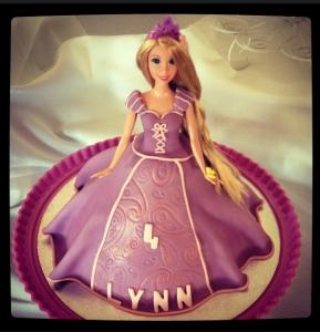 gâteau Rapunzel/Raiponce