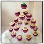 cupcakes rapunzel/raiponce