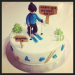 "gâteau ""ski"""
