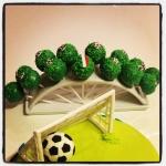 cake pops football