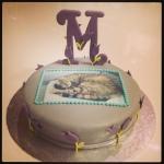 """gâteau d'anniversaire """"image comestible"""""""