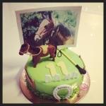 gâteau cheval