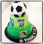 gâteau football