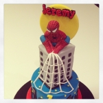 spiderman en sucre