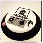 "gâteau ""DJ"""