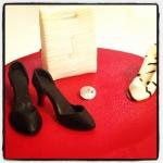 chaussures à talons et sac à main
