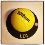 gâteau balle de tennis