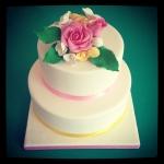 gâteau bouquet
