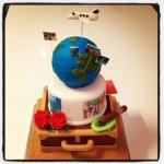 """gâteau """"voyage autour du monde"""""""
