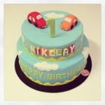 little boy cake