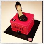 Gâteau chaussure à talon