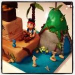 Jake et les pirates cake