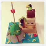 gâteau jake et les pirates