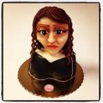 gâteau visage