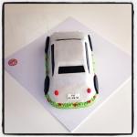 voiture en gâteau