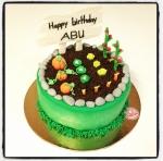 gâteau jardinage