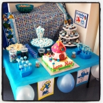 sweet table smurf
