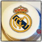 Logo Real Madrid en sucre