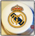 Logo Real Madrid en sucre