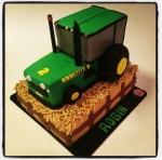 Tracteur gâteau