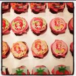 cupcakes charlotte aux fraises