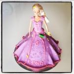 barbie rapunzel cake