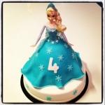 gâteau elsa la reine des neiges