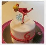 gâteau ice skating