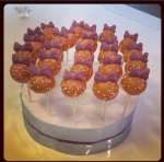daisy cake pops