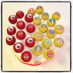 Spiderman & Palace pets cake pops