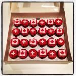 suisse-canada cupcakes