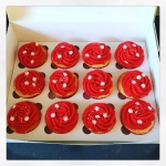 cupcakes rouge