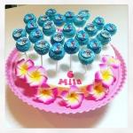 hawaiian cake pops